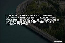 Prayer Quotes For Strength Extraordinary Top 48 Prayer Moves Mountains Quotes Sayings