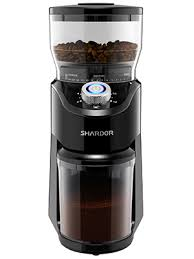 This specific burr grinder has a sleek design and fits in almost every kitchen cabinets. Amazon Com Shardor Conical Burr Coffee Grinder Electric Adjustable Burr Mill With 14 Precise Grind Setting For 2 12 Cup Black Kitchen Dining