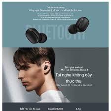 SALE KỊCH SÀN Tai nghe bluetooth xiaomi (Tai nghe bluetooth Mini Xiaomi)  Bluetooth 5.0 Earbuds Basic S True Wireless chí