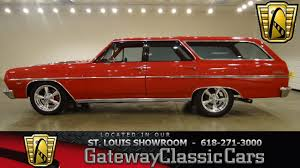 1964 Chevrolet Malibu Wagon - Gateway Classic Cars St. Louis ...