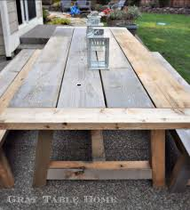 outdoor furniture restoration hardware. Restoration Hardware Inspired Table And Bench Set 5_3 Outdoor Furniture R