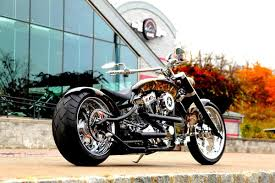 the show of support military hunt custom occ chopper is done for