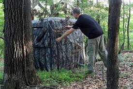 How To Make Windows For A Deer Blind