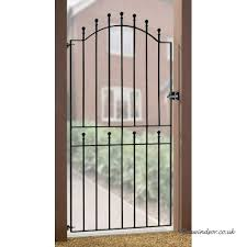 weston ball top tall garden gates 850 920mm gap x 1890mm high galvanised wrought iron metal