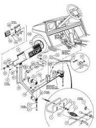 gas club car wiring diagram images brake parts for gas electric club car golf carts