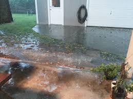 backyard update a rainwater drainage