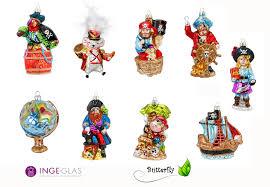 Christbaumschmuck Figuren Piraten Kreativmarkt Butterfly