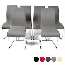 faux leather high back chairs. image is loading charles-jacobs-high-back-dining-chairs-chrome-legs- faux leather high back chairs