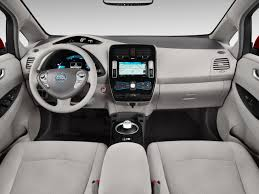 2016 nissan leaf 4 door hb sl dashboard