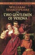 two gentlemen sharing  two gentlemen of verona by william shakespeare english paperback book