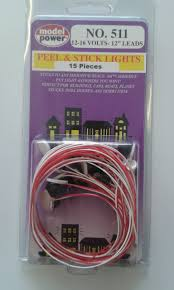 Model Power Peel And Stick Lights 15 Peel And Stick Lights 12 16 Volts 12 Leads