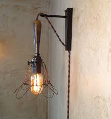 plug in overhead lighting.  plug hanging pendant wall sconce retro edison by ironcladindustrial inside plug in overhead lighting m