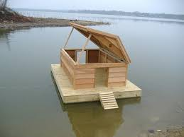 amazing of build a floating duck house the 17 duck house you