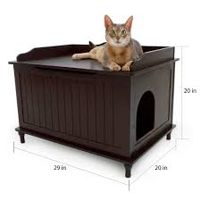 designer cat litter box. Shop Designer Pet Products Wood Hidden Cat Litter Box Enclosure Free Shipping Today Overstockcom 7638119 With