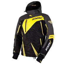 Preowned Fxr Mission X Mens Snowmobile Jacket Black