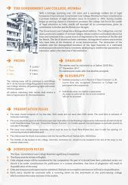 th vyas government law college national legal essay writing  vyas brochure 02