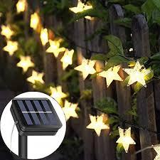 solar string lights garden the garden