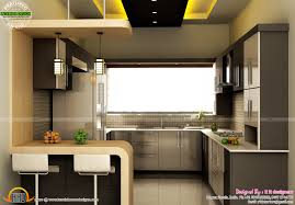 Modular Kitchen With Dining Design Modular Kitchen Dining And Bedroom Interior Kerala Home
