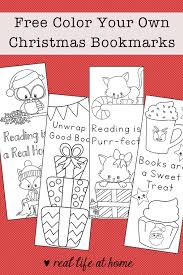 The template includes four different there are also two bonuses available exclusively in the bundle: Free Printable Christmas Bookmarks To Color For Kids