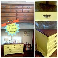 laminate furniture makeover. Home Improvement: Annie\u0027s Dresser Makeover Laminate Furniture