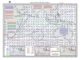 Pilot Charts For The Great Oceans Of The World Chart And