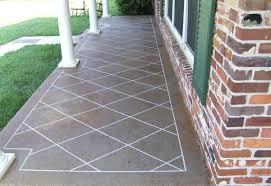 painting concrete porch ideas