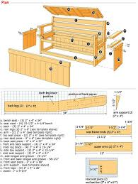 Breakfast Nook Benches With Storage 6 Wondrous Design With Kitchen Wood Bench With Storage Plans