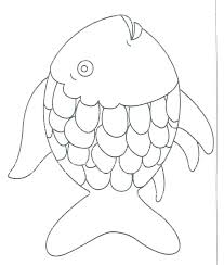 Fish Bowl Outline Fish Template Free Printable Documents Download