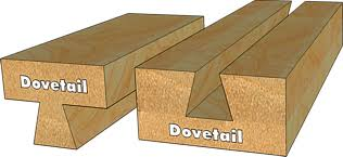 dovetail router bits. length of shank: 38 mm dovetail router bits