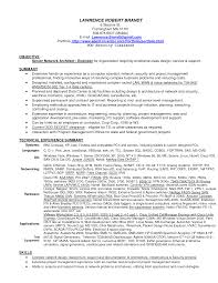 Network Engineer Resume Objective Format India Example Cisco