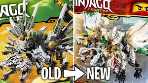 LEGO Ninjago 2019 Legacy Sets - OLD vs NEW! - YouTube