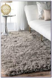 light grey rug