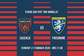 Le formazioni ufficiali di Cosenza - Frosinone - Sito ufficiale del Cosenza  Calcio