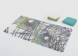 abyss bath rugs for home decorating ideas elegant abyss habidecor leon bath rugs multi color bath