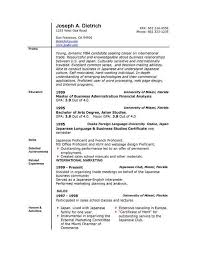 Download Resume Template Word 2010 Free For Download Resume Template