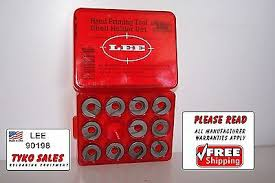 90198 Lee Hand Priming Tool Shell Holder Set 11 Of Most