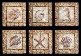 Decorative Ceramic Tile Inserts Hand Painted Decorative Tile Inserts How To Decorate Kitchen Counters 9