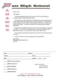 Baseball Sponsorship Request Letter Docoments Ojazlink