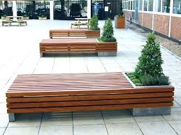 outdoor planter bench pallet bench seat and planter box ideas inside design 6 with plans outdoor outdoor planter bench