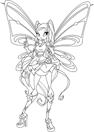 Pin By Sasha M On Coloring раскраски Coloring Pages Winx Club