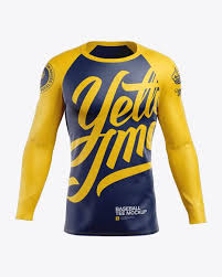 Free for personal and commercial usage zip file includes: Men S Baseball T Shirt With Long Sleeves Mockup Front View In Apparel Mockups On Yellow Images Object Mockups Shirt Mockup Clothing Mockup Baseball Tshirts