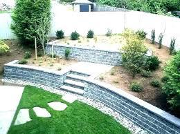 cement retaining wall garden retaining wall blocks retainer wall garden how to build a cinder block