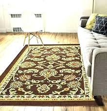 area rugs with non slip backing non