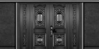 black door texture. Simple Texture 2 3 5 Door In Black Texture 1