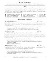 Cook Resume Format Cook Resume Cook Resume Templates Free Download ...