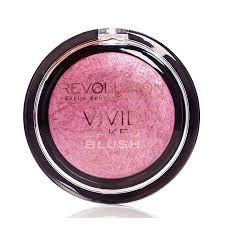 revolution makeup baked blusher blush bang bang you are dead
