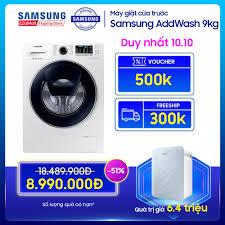 Máy giặt cửa trước Samsung AddWash 9kg - WW90K54E0UW giá rẻ 8.990.000₫