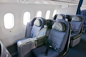 the middle of the plane is assigned to the economy plus cabin of 88 seats with a 35 pitch 17 3 inches in width with a four inch recline