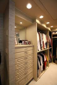 lighting for closet best vanity area closet contemporary with recessed lighting modern with regard to closet
