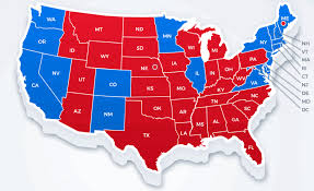 2016 Presidential Election Results Chart Red States Blue States Two Economies One Nation Cfa
